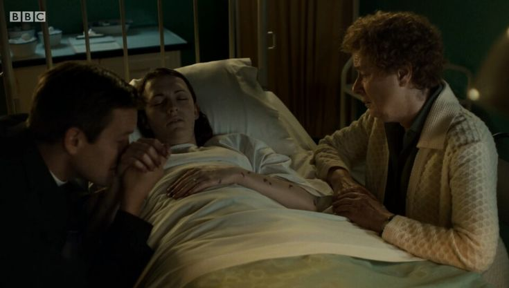 Call the Midwife Series 7 episode 7 - nurse Barbara was surrounded by her husband and beloved friend Phyllis at the end.. very sad storyline..   Actress Charlotte Ritchie decided to quit the role after four years of playing the gentle nurse. Meningococcal Septicaemia storyline.