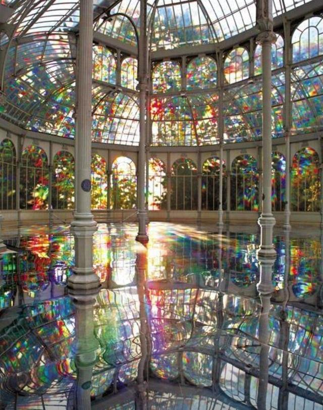 Palacio de Cristal-Madrid España.-