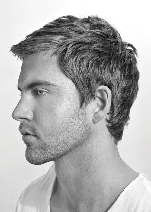 """Basic mens haircut, all hair is pulled 90degrees straight out from the head and cut to the same length the top and crown are usually adjusted to fit clients needs. this looks about 3/4-1"""" on the sides and back and just a slight bit longer on top.---- #2 needs this cut. ------#2 needs this cut."""