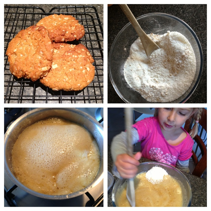 Mummy's Undeserved Blessings: ANZAC Biscuits