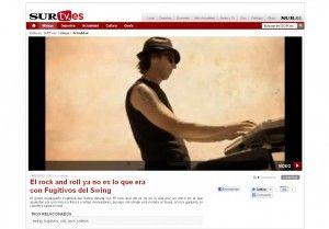 Video Crítica de Rafa Cortés para Diario Sur de nuestro disco