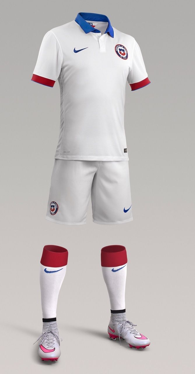 Chile (Federación de Fútbol de Chile) - 2015 Copa América Nike Away Kit