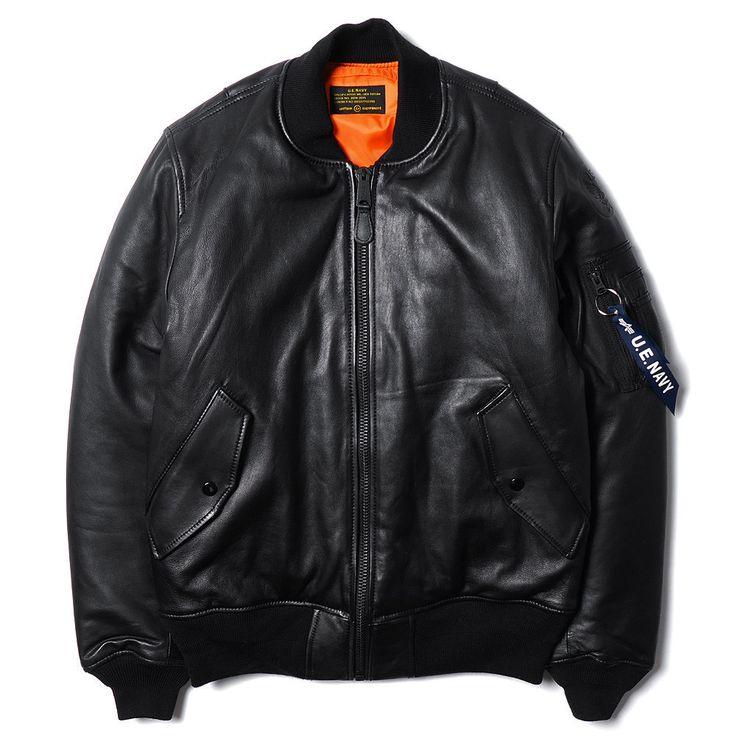 uniform experiment x Alpha Industries classic MA-1 flight jacket