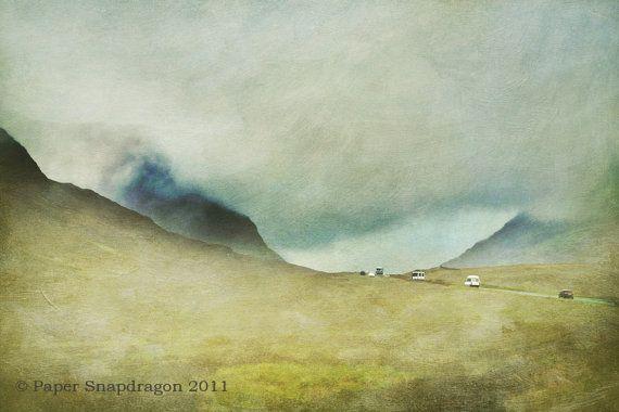 Scottish Highland Landscape Fine Art Limited by PaperSnapdragon, £25.00