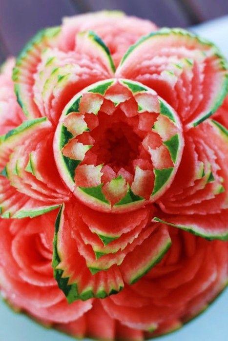 watermelon flower...amazing