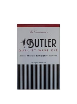 Butlers Connoisseur Hockheimer 1 gallon white wine kit. - How to make your own wine at home.