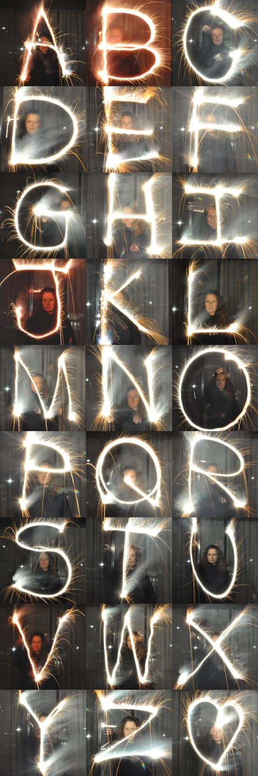 a sparkler photography tutorial: how to write with sparklers and catch it on camera!