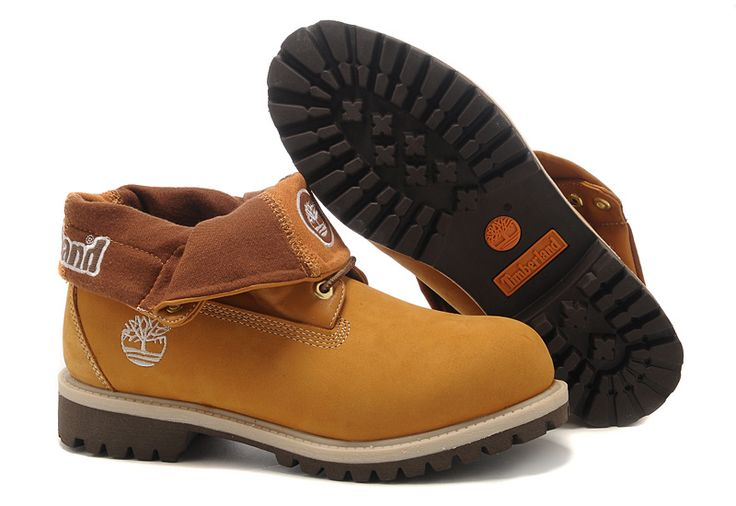 Timberland Shoes Outlet | Donne Timberland Roll Top Boots Grano outlet online
