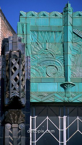 Art deco...jazz-age architecture, lavish, aesthetically appealing...