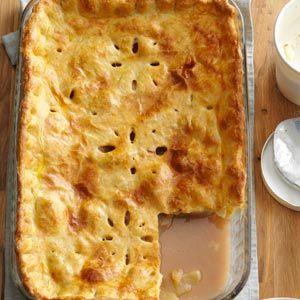 Deep-Dish Apple Pie Recipe from Taste of Home -- shared by Salem Cross Inn of West Brookfield, Massachusetts