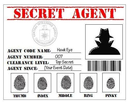 Agent secret classe de 3ème année