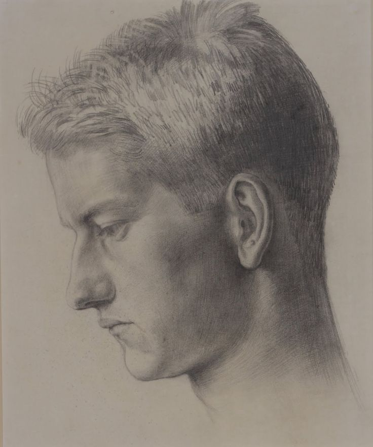Noel Carrington by Dora Carrington, c.1912. Pencil on paper.