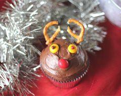 Reindeer Cupcakes Recipe - Christmas