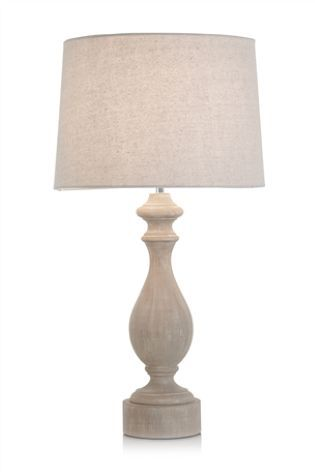 Burford Wooden Table Lamp