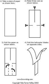 image result for paper helicopter template