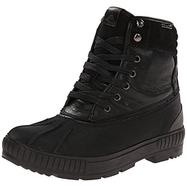 Aldo Mens Indrakova Leather Waterproof Snow Boots