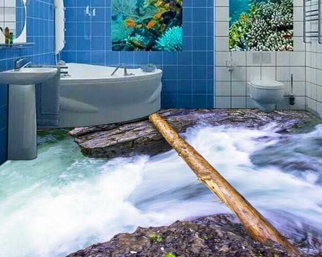 25 best ideas about 3d floor art on pinterest contact for Bathroom 3d floor designs