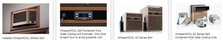 WhisperKool Cooling Units is one of the most sought-after brands of quality Custom Wine Cellar Refrigeration Units. You can choose from self-contained, split, ducted or ductless types. Click here to learn more about this - http://www.winecellarsbycoastalblog.com/trusted-brands-of-quality-custom-wine-cellar-refrigeration-units/. Coastal Custom Wine Cellars 26222 Paseo Toscana San Juan Capistrano, CA 92675‎ California Office: +1 (949) 355-4376