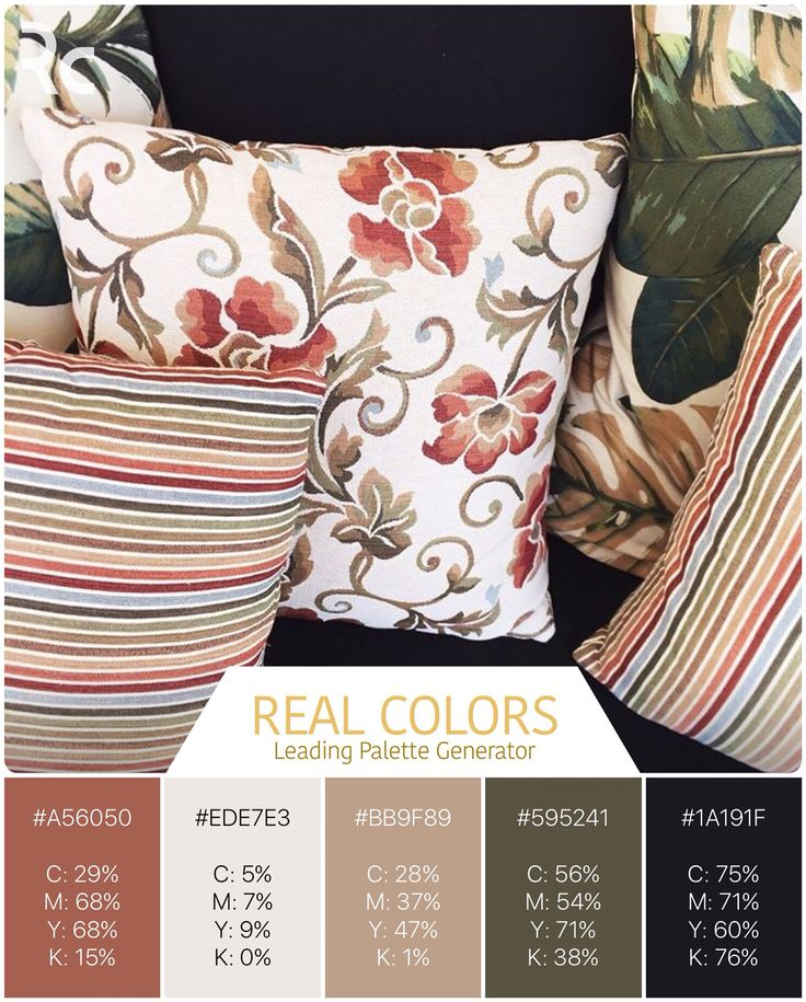 Autumn vibes in your home.  Download for free Real Colors for iPhone: http://www.itunes.com/apps/realcolors Or for Android: http://goo.gl/NtPx8  #findinspiration #colorpalettes #realcolors  #realcolorpalette #becreative #design #home #interiordesign #interior #lovecolors #lovedesigning  #homedecor #house #spaceart #style #colors #autumncolors #autumninspiration #pillows