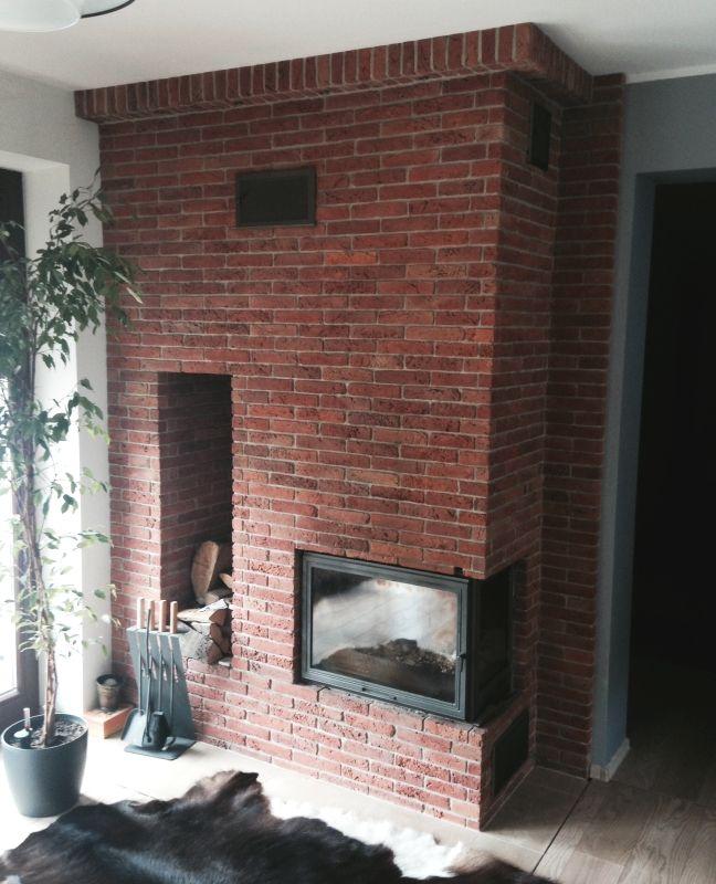 kominek tradycyjny z cegły t42