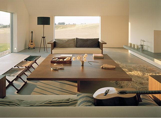 Put a beach outside one of those windows and this becomes my perfect chill out room