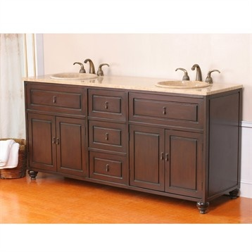 Bathroom Remodel Double Sink manorhaven 60 double sink vanity. newport 3pc chaise lounge set