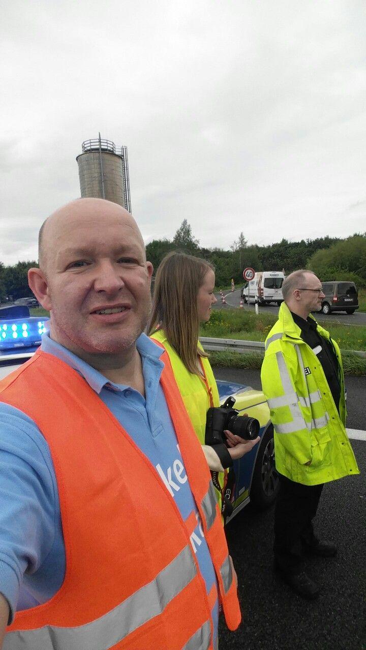 Reportage bei der Autobahnpolizei Garbsen