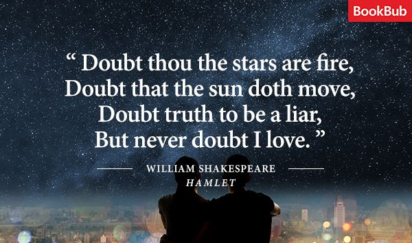 The Most Beautiful Quotes About Love From Classic Literature - BookBub Blog ~ I have never read this, but I love this quote!
