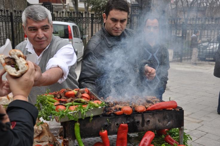 Kofte sandwich - Istanbul
