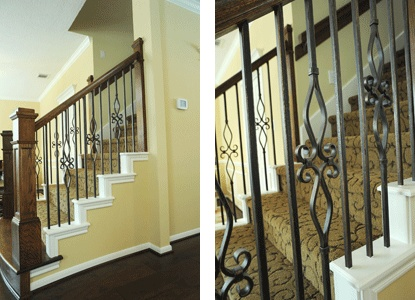 17 best images about new to houston and need to renovate for Stair remodel houston