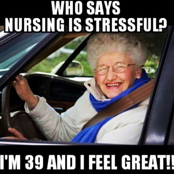 Nurse humor.