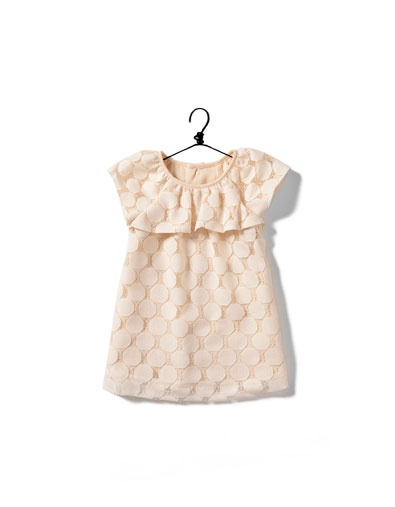 baby girl polka dot dress - ZARA United States