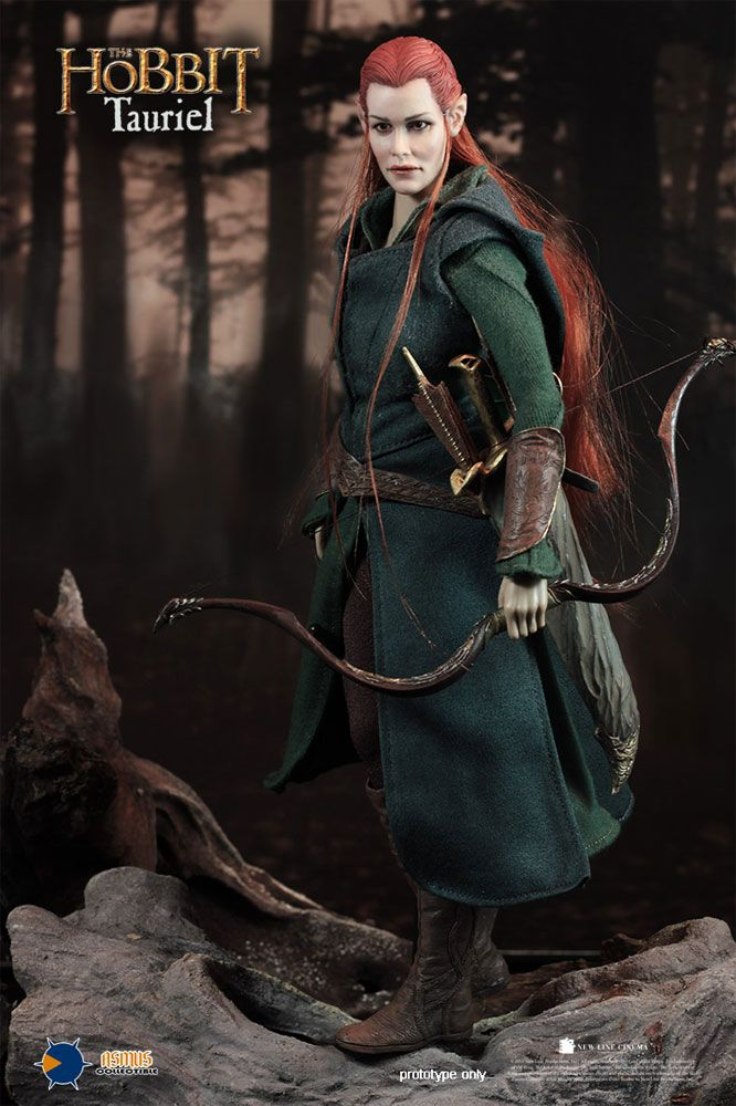 Hobbit Tauriel Evangeline Lilly 1/6 Scale Collectible Figure by Asmus Evangeline Lilly
