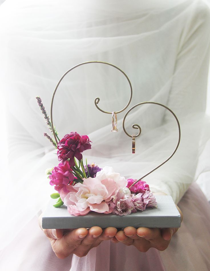 # Wedding Gift-Purple Lover Ring Hanger - Yada.vn- # wedding gift