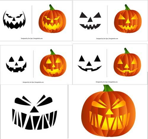 Halloween 2012 Free vector Graphics