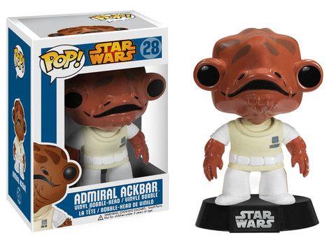 Pop! Star Wars: Admiral Ackbar   Funko