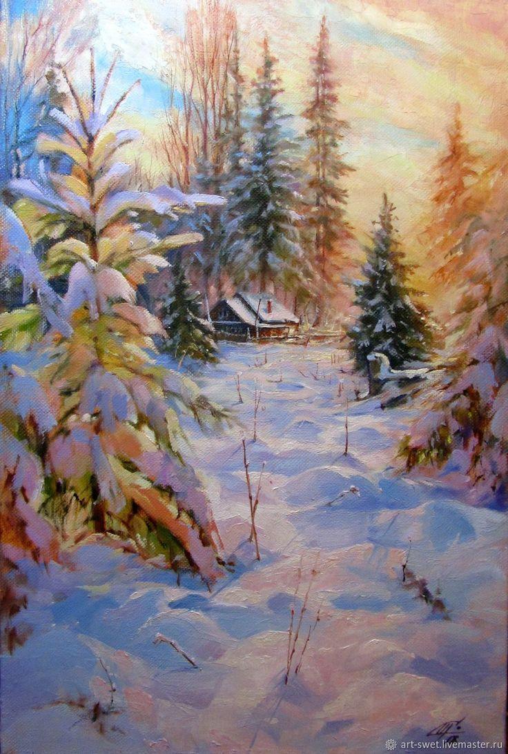 Мои, картинки с пейзажем зимы нефедова
