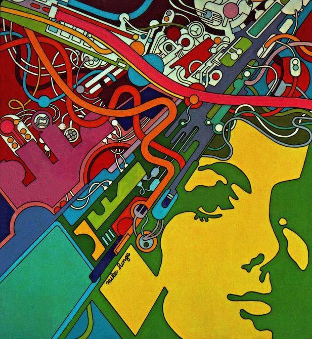 Майк Хинге, 1970-е - Ретрофутуризм. Retrofuturism