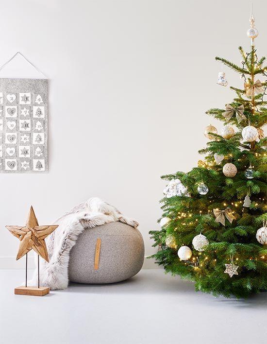 Kersttrends 2018 Goud Hout En Terug Naar Een Echte Kerstboom
