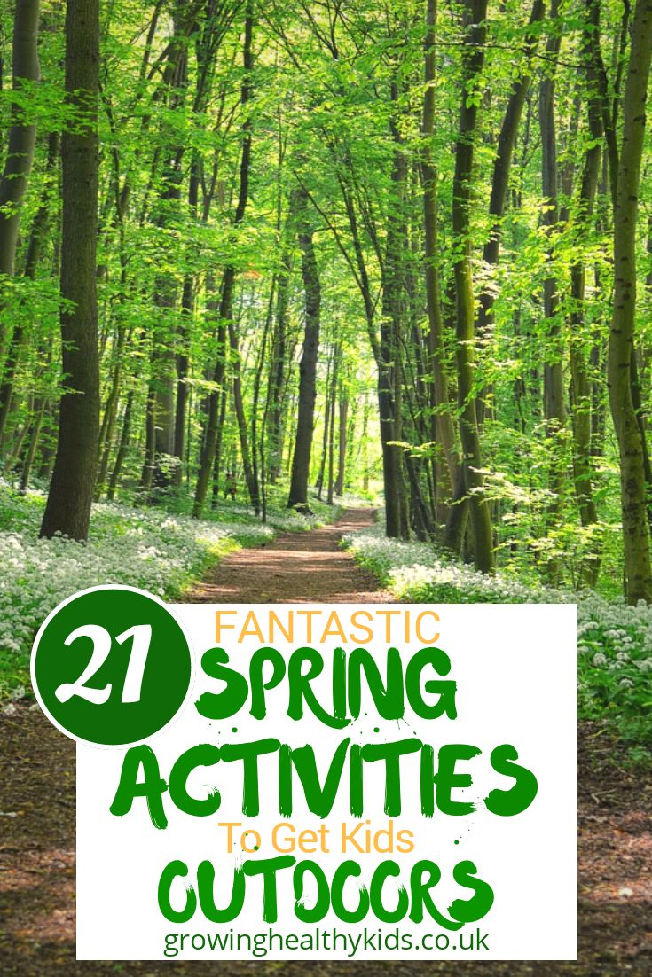 21 Fantastic Spring Activities To Get Your Kids Outdoors