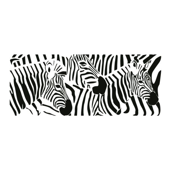 zebra tattoo / silhouettes