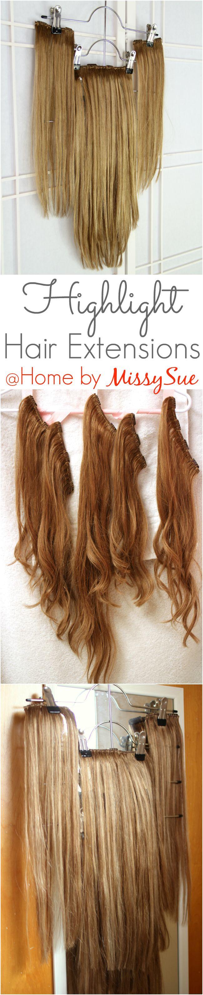 Wie man Haarverlängerungen hervorhebt