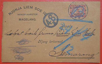 Old Postcard Netherlands East Indies 1914 from Magelang to Semarang #1201 | eBay