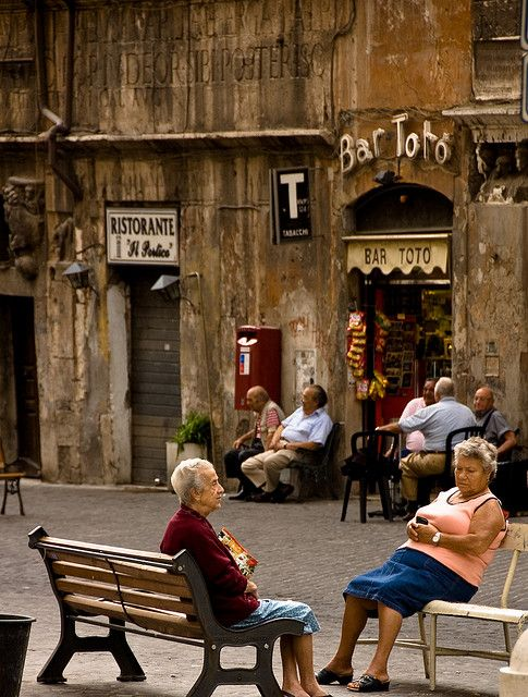The Meeting Place - Rome, Italy