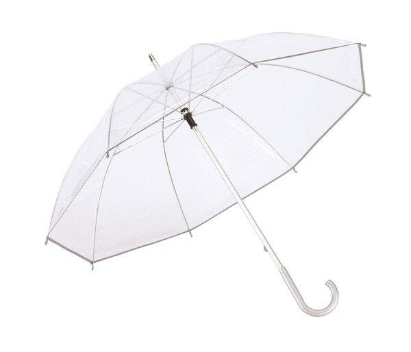 PANORAMIX MOQ 24 pcs Transparent aluminium walking umbrella