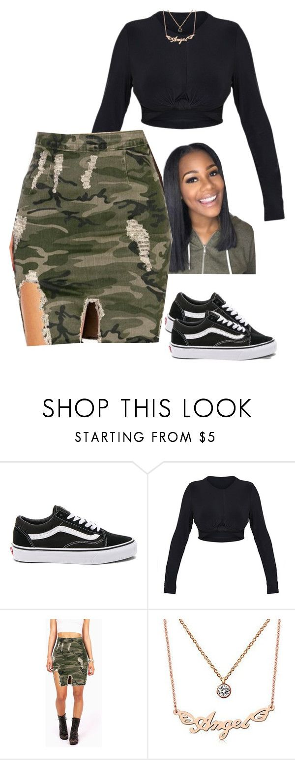 """its been a while"" by frenchmamii ❤ liked on Polyvore featuring Vans and Nanazi Jewelry"