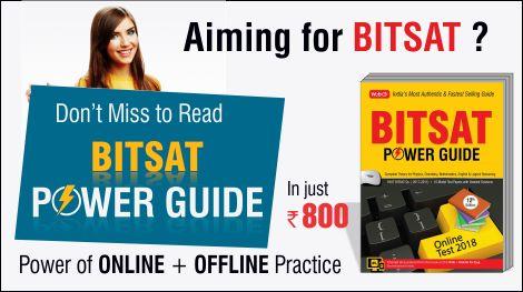 Best book to prepare for BITSAT Exam 2018