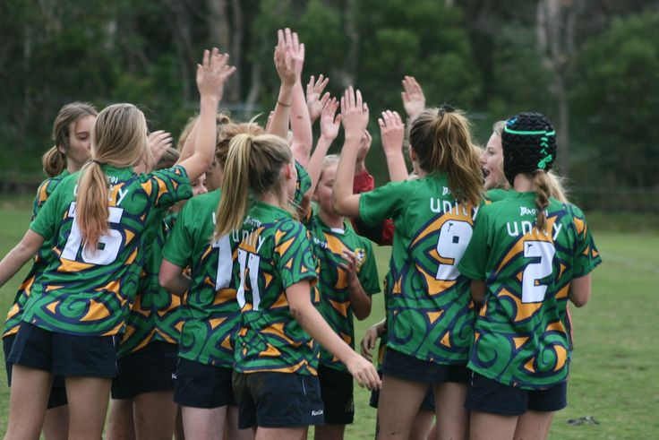 Unity College won the spirit of Rugby Award at the Sunshine Coast Schoolgirls Sevens Tournament on Monday night July 22.