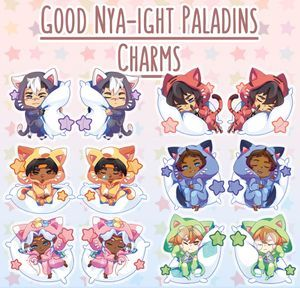 Spa Day Voltron Charms