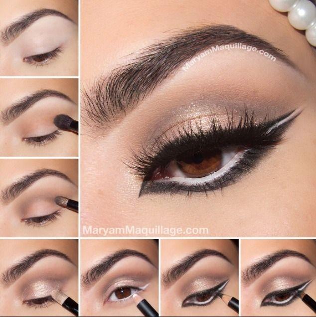 Middle Eastern Inspired Eye Makeup #Fashion #Beauty #Trusper #Tip